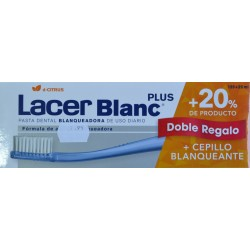 LACER BLANC PLUS D-CITRUS DOBLE REGALO + 20% DE PRODUCTO + CEPILLO BLANQUEANTE