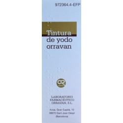 TINTURA DE YODO 40 ML ORRAVAN