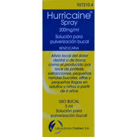 HURRICAINE SPRAY 200 MG/ML LABORATORIOS CLARBEN