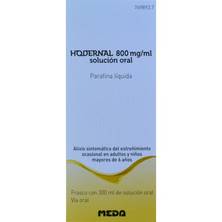 HODERNAL 800 MG/ML SOLUCIÓN ORAL 300 ML MEDA