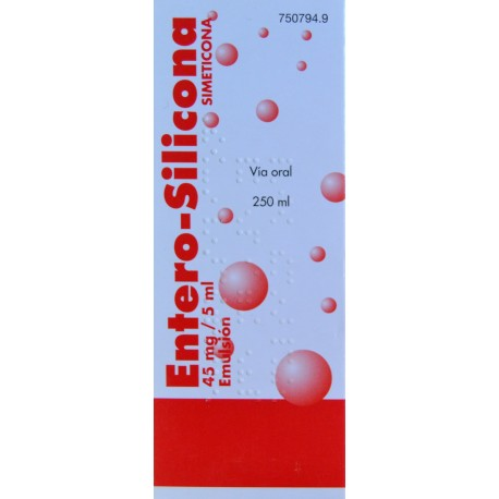 ENTERO-SILICONA 45 MG/5 ML 250 ML ALDO-UNIÓN