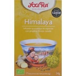 HIMALAYA 17 BOLSITAS YOGI TEA
