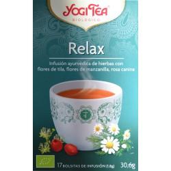 RELAX 17 BOLSITAS DE INFUSIÓN YOGI TEA