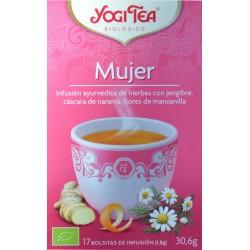 MUJER 17 BOLSITAS YOGI TEA