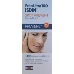 FOTOULTRA 100 SPOT PREVENT FUSION FLUID 50 ML ISDIN