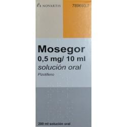 MOSEGOR 0.5 MG/10 ML SOLUCIÓN ORAL NOVARTIS