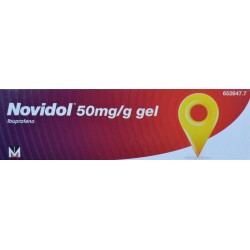 NOVIDOL 50 MG/G GEL LABORATORIOS MENARINI