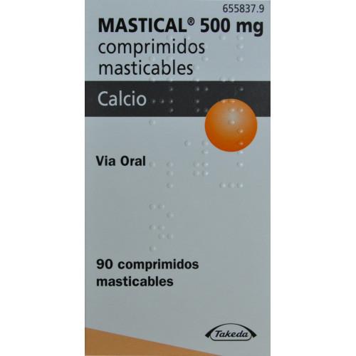 MASTICAL 500 MG 90 COMPRIMIDOS MASTICABLES