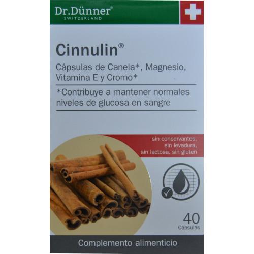 CINNULIN 40 CÁPSULAS DR. DÜNNER