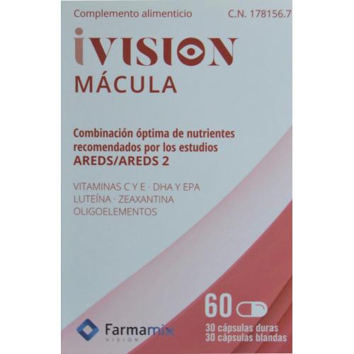 IVISION MÁCULA 60 CÁPSULAS (30 CÁPSULAS DURAS + 30 CÁPSULAS BLANDAS) FARMAMIX