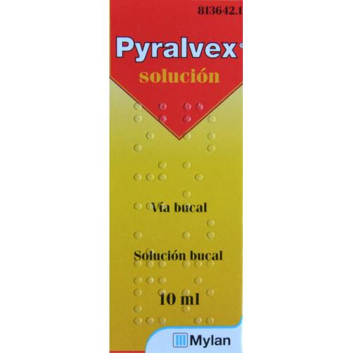 PYRALVEX SOLUCIÓN BUCAL 10 ML MYLAN