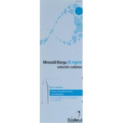 MINOXIDIL BIORGA 20 MG/ML SOLUCIÓN CUTÁNEA 60 ML BAILLEUL LABORATOIRES