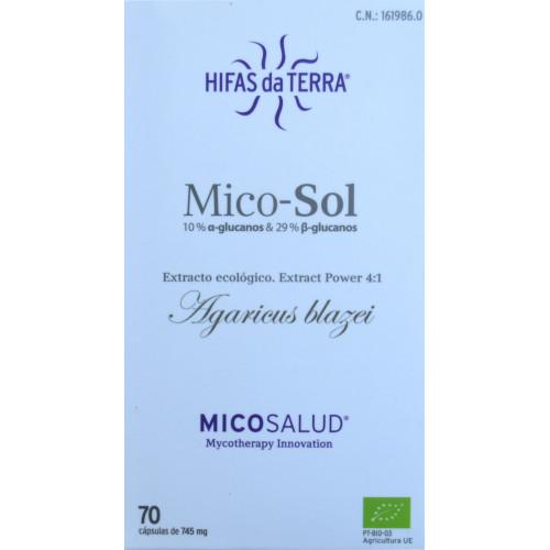 MICO-SOL 70 CÁPSULAS HIFAS DA TERRA