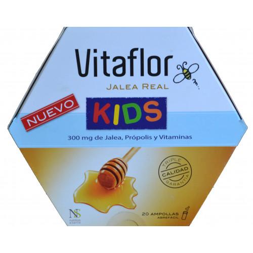 VITAFLOR JALEA REAL KIDS 20 AMPOLLAS NUTRITION & SANTÉ