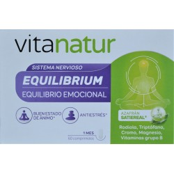 VITANATUR EQUILIBRIUM NUEVO FORMATO 60 COMPRIMIDOS DIAFARM