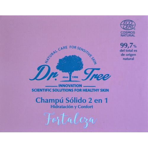 CHAMPÚ SÓLIDO 2 EN 1 FORTALEZA DR TREE