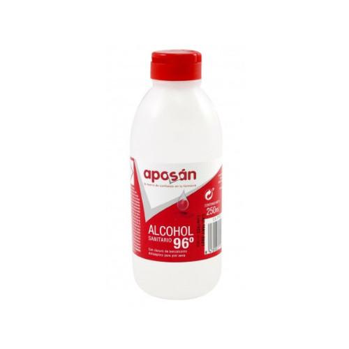 ALCOHOL SANITARIO 96º 250 ML APOSÁN