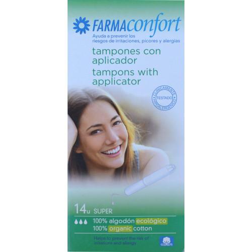 TAMPONES SUPER 14 U FARMACONFORT