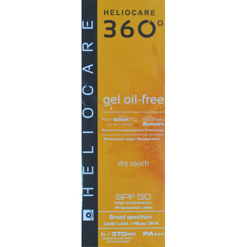 GEL OIL-FREE HELIOCARE 360