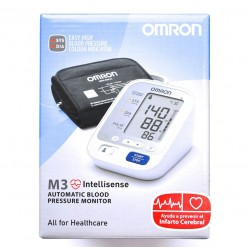 AUTOMATIC BLOOD PRESSURE MONITOR M3 INTELLISENSE OMRON