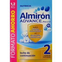 LECHE DE CONTINUACIÓN ALMIRÓN ADVANCE 2 CON PRONUTRA NUTRICIA