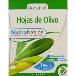 HOJAS DE OLIVO 30 CÁPSULAS VEGETALES DRASANVI