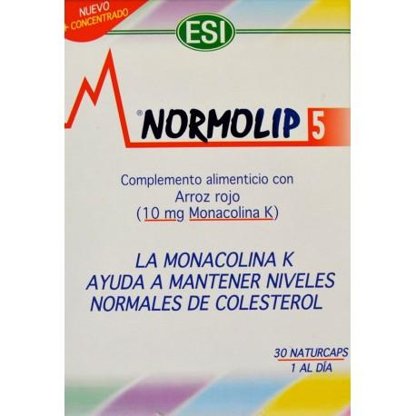 NORMOLIP 5 30 NATURCAPS ESI