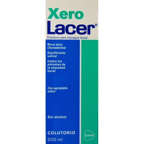 COLUTORIO PARA ENJUAGUE BUCAL XERO 500 ML LACER