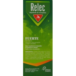 RELEC SPRAY REPELENTE DE MOSQUITOS FUERTE 75 ML OMEGA PHARMA