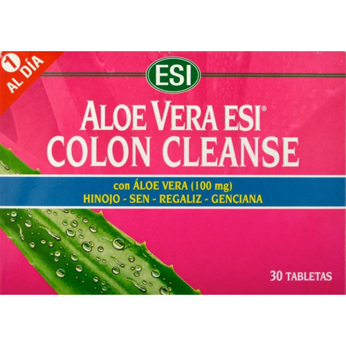 COLON CLEANSE LAX DAY 30 TABLETAS ESI