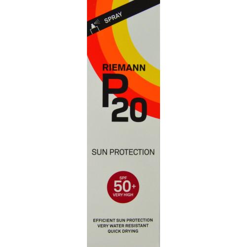 PROTECCIÓN SOLAR SPF 50+ VERY HIGH 100 ML RIEMANN P20