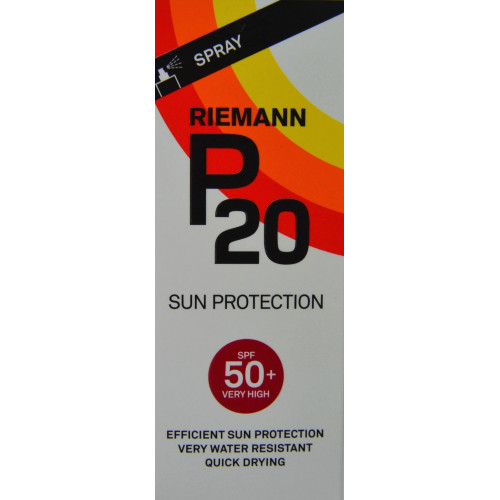 PROTECCIÓN SOLAR SPF 50+ VERY HIGH 40 ML RIEMANN P20