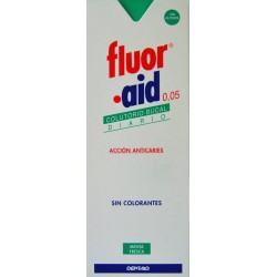 COLUTORIO ACCIÓN ANTICARIES FLUOR AID 0,05 500 ML DENTAID