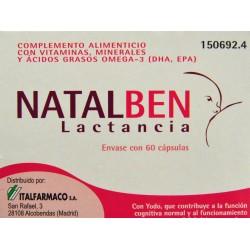 NATALBEN LACTANCIA 60 CÁPSULAS ITALFARMACO