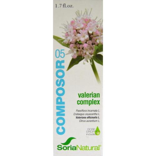 VALERIAN COMPLEX COMPOSOR 05 SORIA NATURAL