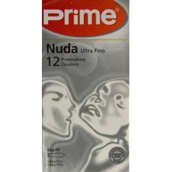 NUDA ULTRA FINO 12 PRESERVATIVOS PRIME