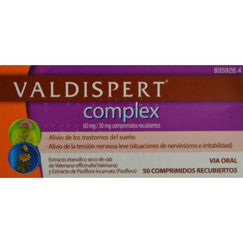 VALDISPERT COMPLEX 50 COMPRIMIDOS VEMEDIA