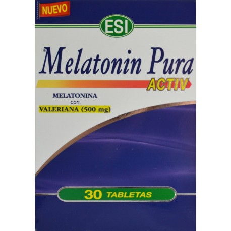 MELATONIN PURA ACTIV 30 TABLETAS ESI