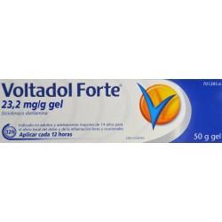 VOLTADOL FORTE 23,2 MG/ G GEL 50 G NOVARTIS