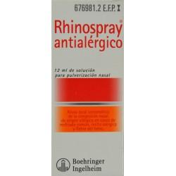 RHINOSPRAY ANTIALÉRGICO 12 ML BOEHRINGER INGELHEIM