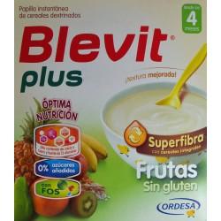 BLEVIT PLUS FRUTAS SIN GLUTEN DESDE LOS 4 MESES (2 X 300 G) ORDESA