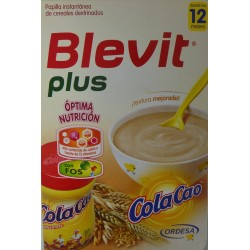 BLEVIT PLUS COLA CAO DESDE LOS 12 MESES 300 G ORDESA