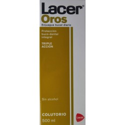 COLUTORIO OROS 500 ML LACER